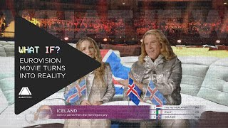 What If?: The Eurovision Movie turns into the real Eurovision