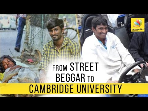 Chennai beggar to Cambridge scholar : Cinematic twist in rea