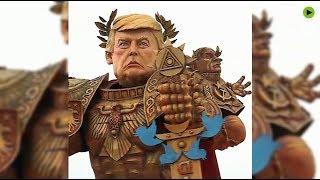 'Twitter is his sword': God Emperor Trump