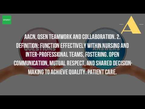 teamwork in nursing profession