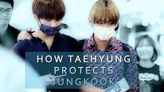 How Taehyung Protects Jungkook || Taekook/VKook Evidence thumbnail