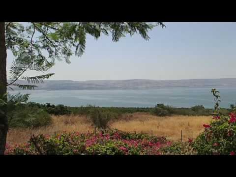 Sea Of Galilee Panorama (Mount Of Beatitudes)