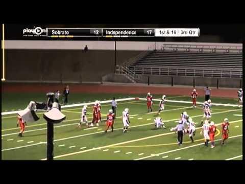 Football - Sobrato vs. Independence - YouTube