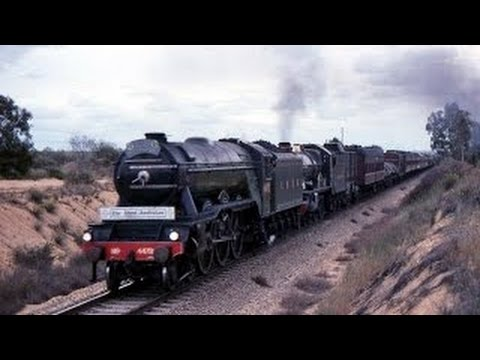 Flying Scotsman And Pendennis Castle - Western Australia 1989