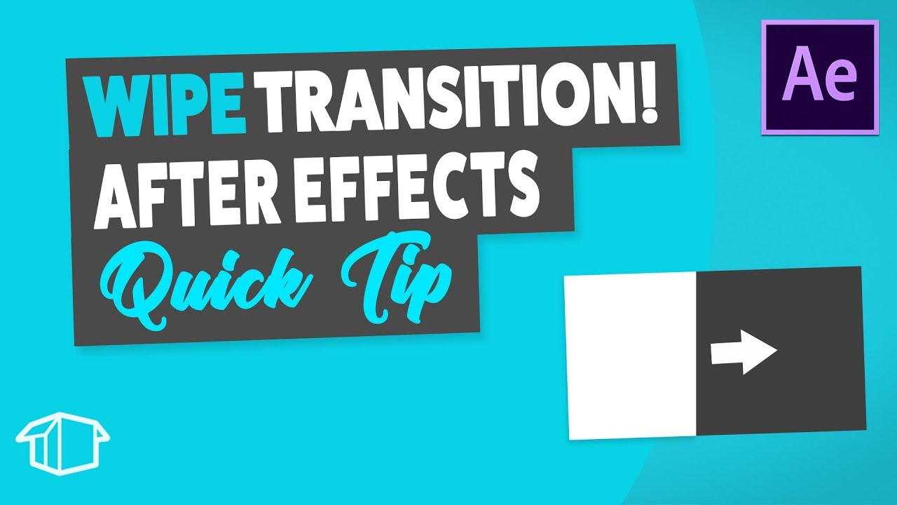 Layer Wipe Transition - After Effects Tutorial Quick Tip