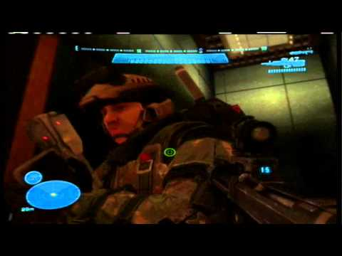 Halo Reach Easter Egg-Frightened Marine on New Alexandria