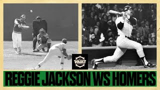 The great Mr. October! Check out ALL of Reggie Jackson's World Series homers!