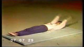 Soviet TV morning exercise program (1987)