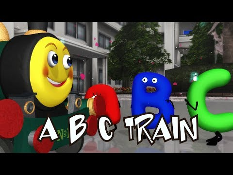 ABC Song | Frozen Songs | Kids Songs | Car Songs | Alphabets Song | Smiley The Train Song |