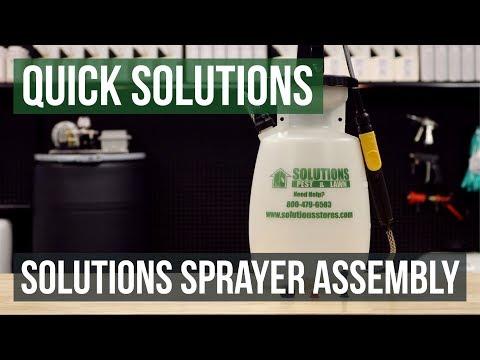Solutions Sprayer - 1 Gallon Poly