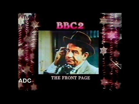 BBC1 announcer Robin Whitting 25th December 1980