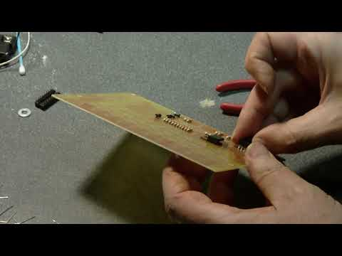 Building the FireFly Light Organ on Printed Circuit Board I designed & made