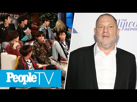 BTS Appears On 'The Ellen DeGeneres Show', Harvey Weinstein Surrenders To Police | PeopleTV