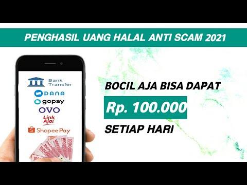 Penghasil Uang Halal Anti Scam Aplikasi Penghasil Uang Tercepat 2021 Youtube