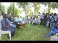 H. E ALI KORANE  CHALLENGES HON.ADEN  DUALE TO CHANGE HIS STYLE OF LEADERSHIP