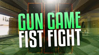 GUN GAME FIST FIGHT! (Black Ops 3 Gameplay)