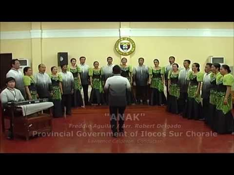 """ANAK""  PROVINCIAL GOVERNMENT OF ILOCOS SUR CHORALE"