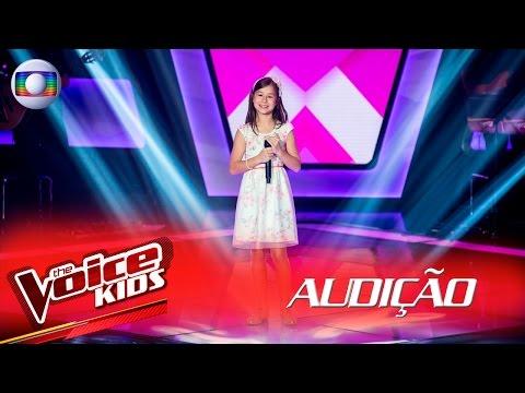 Laura Bechler canta 'A Menina Dança' na Audição – The Voice Kids Brasil | 2ª Temporada
