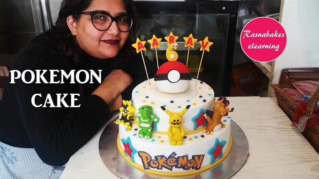 Cute Pokemon Birthday Cake Ideas For Boys Girlshomemade Bakery Maker Videos Movie