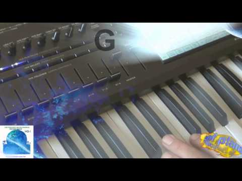 Korg Kronos : Earth-- example: Motion pads Part 1