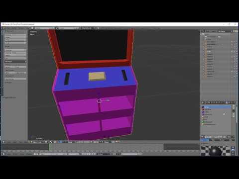 Blender to Substance Painter ID Map