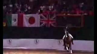 Dressage-R Klimke i Alerich NY 1987 GP Show