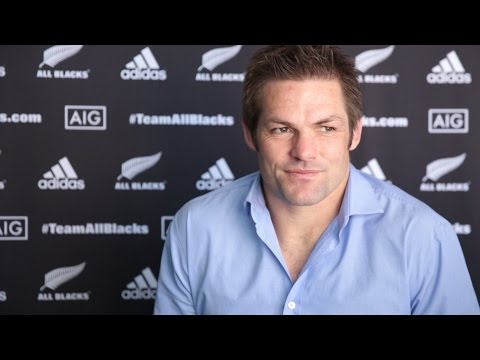 Interview with newly-retired Richie McCaw