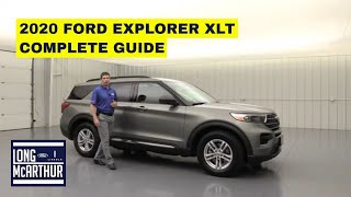 2020 FORD EXPLORER XLT COMPLETE GUIDE STANDARD AND OPTIONAL EQUIPMENT