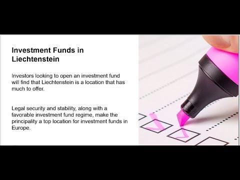 Types of Investment Funds in Liechtenstein