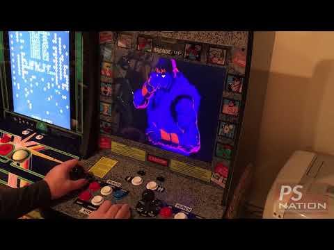 Arcade1Up Street Fighter II Champion Edition Cabinet Closer Look from PJFJosh