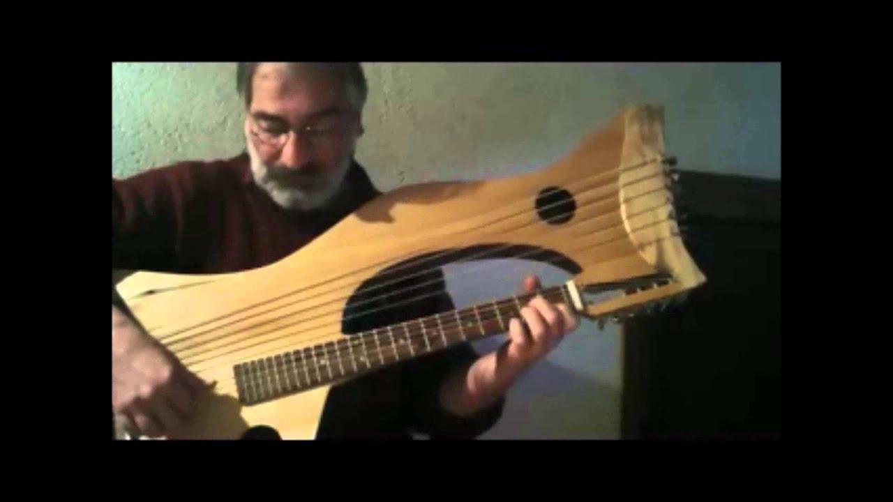 """""""Cuvée amis"""" Julien Heurtebise guitare-harpe/voix - YouTube"""