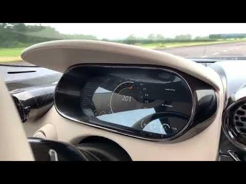 Koenigsegg Regera 0 - 326 KM/H Acceleration !!!