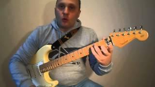 Metallica-Enter Sandman.Разбор. 3 часть