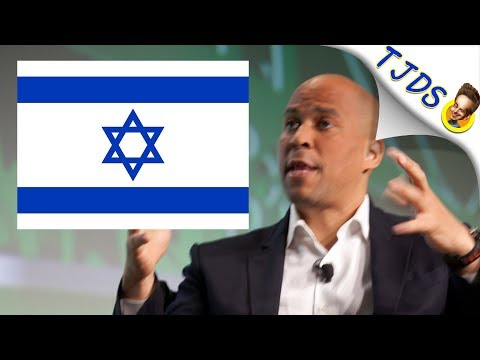 Cory Booker Sides With Israel Against Free Speech
