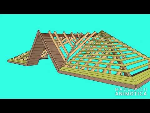 крыша, соединение стропило люкарны ,и .т.д