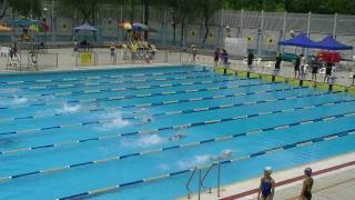 沙田區2010校際游泳比賽 男子乙組50米自由式決賽