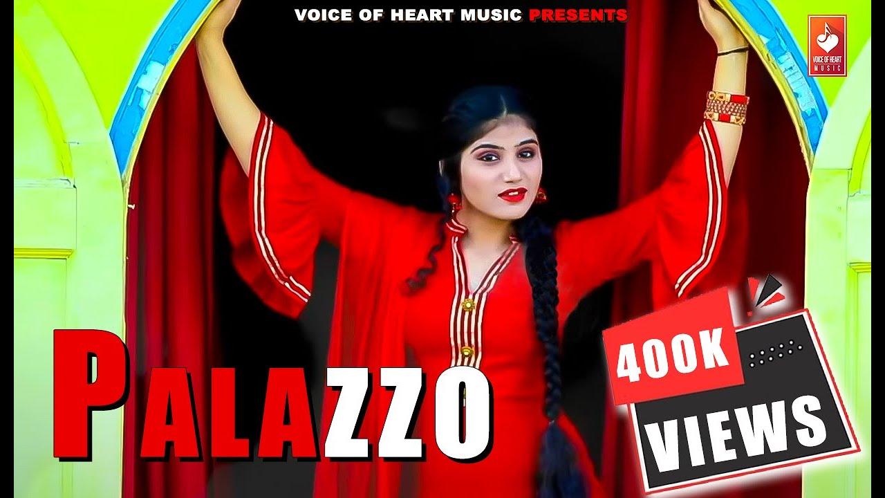 Palazzo (Full Song) - Latest Haryanvi Songs Haryanavi 2019 |Tr, Nitika  Malhotra ,Khalifa |Vohm