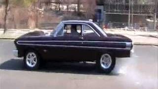 1964 ford falcon burn out