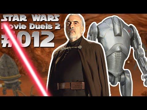 STAR WARS MOVIE DUELS 2 #012 Count Dookus Kampf um Geonosis [Deutsch]