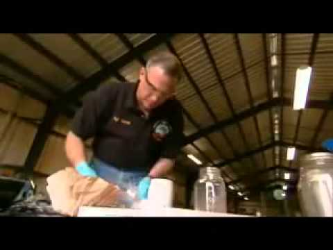 COP cooks METH.  Shows how easy it is.