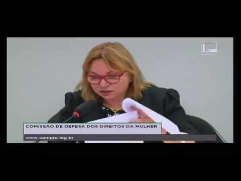 DEFESA DOS DIREITOS DA MULHER - Reunião Deliberativa - 18/10/2016 - 12:03