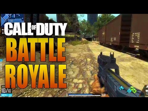 BATTLE ROYALE MODE COMING TO CALL OF DUTY (PUBG, Fortnite, etc)