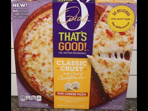 Oprah That's Good! Five Cheese Pizza Review