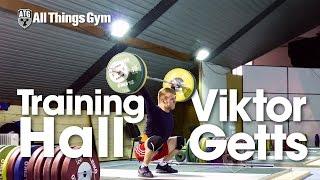 Viktor Getts Training Hall 2015 European Weightlifting Championships 4K