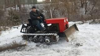 як зробити трактор на гусеницях