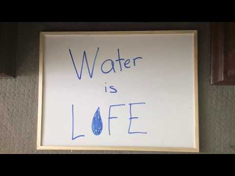 Water is life - water pollution ad