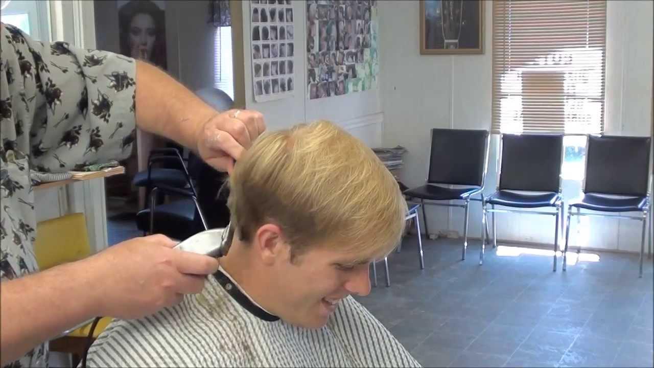 543 Scissors Gentlemens Cut Nice Youtube