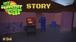 Stealing slot machine - Exit from prison - My Summer Car Story #34