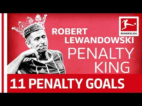 Robert Lewandowski Bayern's Penalty King  - 11 out of 11 from the Spot