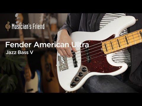 Fender American Ultra Jazz Bass V – All Playing, No Talking